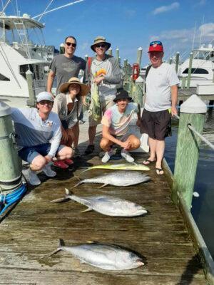 Outer Banks tuna sport fishing charter