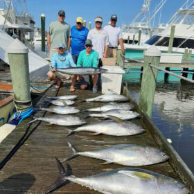 Tuna fishing in the Outer Banks
