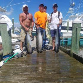 Fishing in Pirates Cove Marina