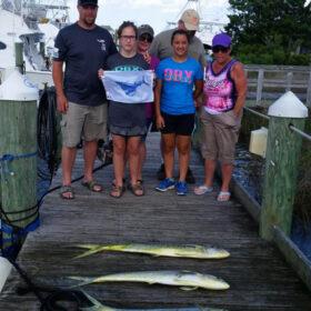 Family fishing Ocean City
